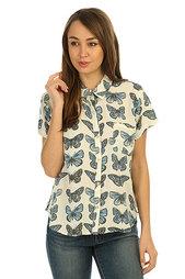 Рубашка женская Roxy Vista Point Watercolour Butterfl
