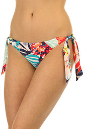 Трусы женские Roxy Knotted Surfer Canary Islands Flora