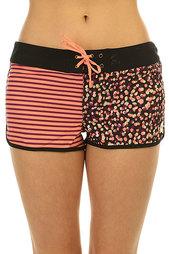 Шорты пляжные женские Roxy Colors Print Bs Animal Print Combo T