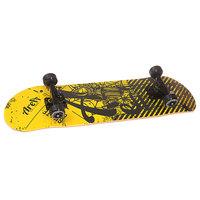 Скейтборд в сборе Fun4U Danger Beat Black/Yellow 31 x 8 (20.3 см)