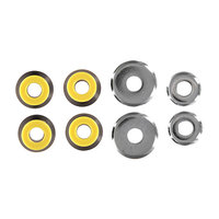 Амортизаторы для скейтборда комплект Union Bushings Black/Yellow