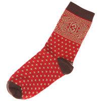 Носки средние женские Запорожец Крестики Красный