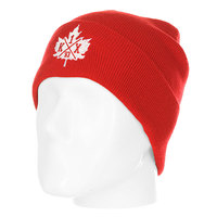 Шапка K1X Classic Leaf Beanie Red/White