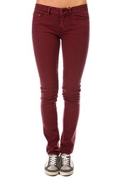 Джинсы узкие женские Insight Beanpole Skinny Plain Colours Wino Red