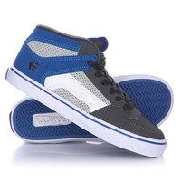 Кеды кроссовки высокие детские Etnies Rvm Vulc Grey/Blue