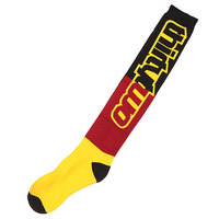 Носки высокие Thirty Two Nations Sock Black/Gold