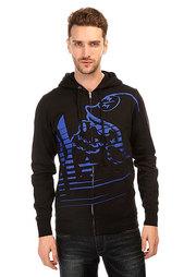 Толстовка классическая Metal Mulisha Exist Zip Fleece Black/Blue