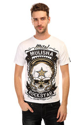 Футболка Metal Mulisha Skull Rs Optic White