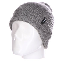 Шапка Thirty Two Crook Watch Beanie Grey/Heather