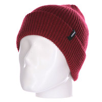 Шапка Thirty Two Crook Watch Beanie Burgundy