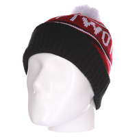 Шапка Thirty Two Pom Beanie Red