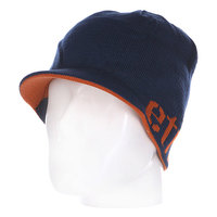Шапка с козырьком Etnies Breadwinner Visor Beanie Navy/Orange
