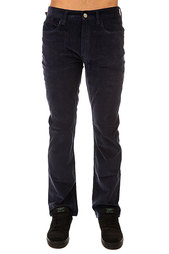 Штаны прямые Altamont Wilshire Five Pocket Cord Navy