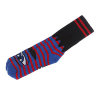 Носки Toy Machine Sect Eye Stripe Red/Blue