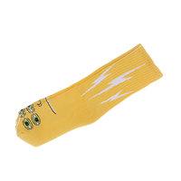 Носки средние Toy Machine Transmissionator Face Yellow