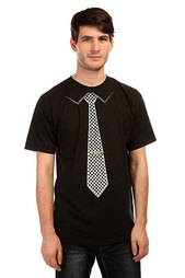 Футболка Innes Tie Black