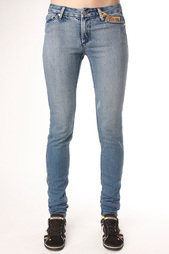 Джинсы узкие женские Insight Beanpole Skinny Stretch Mid Blue Stone