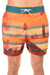 Шорты пляжные Billabong Utopia Layback 16 Orange