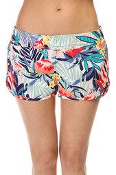Шорты пляжные женские Roxy Love Bs Canary Islands Floral