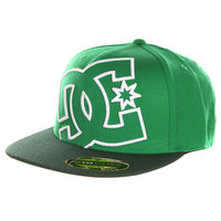 Бейсболка с прямым козырьком DC Ya Heard Celtic Green