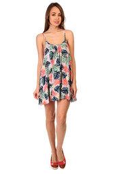 Платье женское Roxy Windy Fly Away Beach Palm Combo Ros