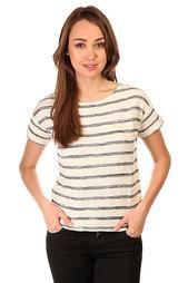 Футболка женская Roxy Adelaide Adelaide Stripe Combo Black/White