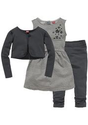 Комплект: платье + болеро + легинсы KIDOKI