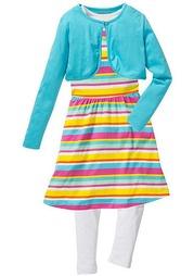 Комплект: платье + легинсы + болеро
