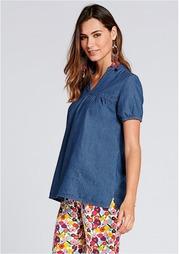 Джинсовая блузка Venca