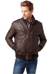 Кожаная куртка Rhode Island