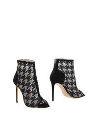 Черные Полусапоги и высокие ботинки Nicholas Kirkwood