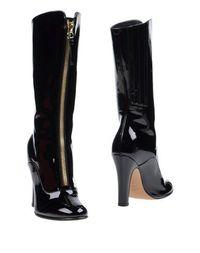 Черные Полусапоги и высокие ботинки Valentino Garavani