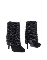 Черные Полусапоги и высокие ботинки Rodolphe Menudier