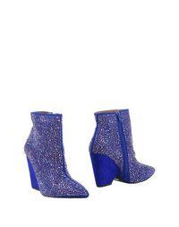 Синие Полусапоги и высокие ботинки Jeffrey Campbell