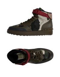 Высокие кеды и кроссовки Valentino