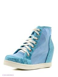 Синие Ботинки NOBBARO