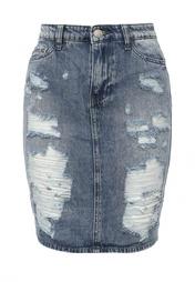 Юбка джинсовая Kiss Pink