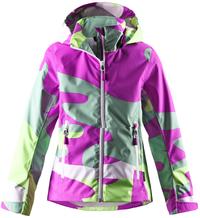 Куртка для девочек Reima Cress fucshia fun