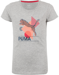 Футболка для девочек Puma Fun Ing Graphic Tee