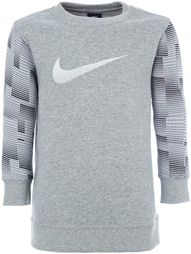 Джемпер для мальчиков Nike Brushed Fleece Graphic Crew