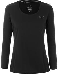 Футболка с длинным рукавом женская Nike Dri-FIT Contour