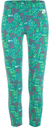 Бриджи женские Nike Leg-A-See-Cropped Aop