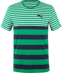 Футболка мужская Puma Fun Dry Stripe Tee