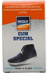 Ластик для удаления загрязнений с замшевой кожи и текстиля Woly Sport