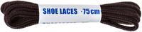 Шнурки черно-коричневые круглые Woly Sport, 75 см