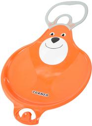 Санки-ледянки с зацепом Torneo Teddy Bear
