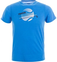 Футболка для мальчиков Wilson B Tennis Stripe Tech Tee