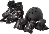 Набор детский Nordway: ледовые коньки, шлем, защитная экипировка