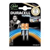 Батарейки щелочные Duracell Turbo AAA/LR03, 2шт.