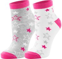 Носки для девочек Demix, 2 пары